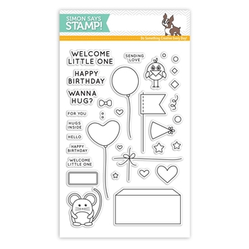 Simon Says Clear Stamps CUDDLY CRITTERS ACCESSORIES SSS101611 My Favorite