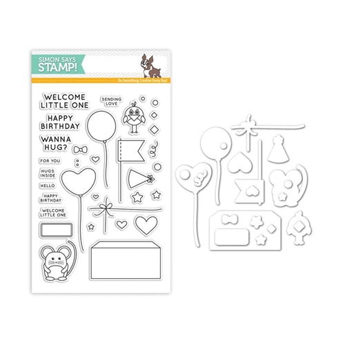 Simon Says Stamps and Dies CUDDLY CRITTERS ACCESSORIES Set255CCA My Favorite Preview Image