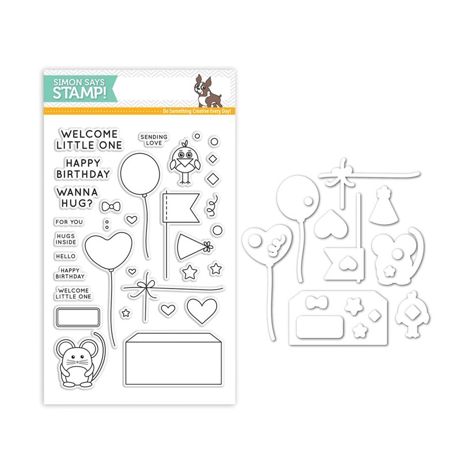 Simon Says Stamps and Dies CUDDLY CRITTERS ACCESSORIES Set255CCA My Favorite zoom image