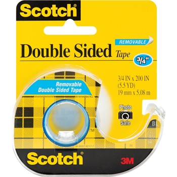 3M Scotch REMOVABLE Double Sided Tape 238