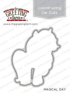 The Greeting Farm MAGICAL DAY Die Cut TGF237 zoom image