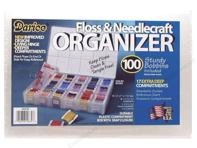 Darice FLOSS AND NEEDLE CRAFT Organizer DCB50 zoom image
