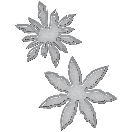 S4-619 Spellbinders Tammy Tutterow Designs FRAYED POSIES Etched Dies* Preview Image
