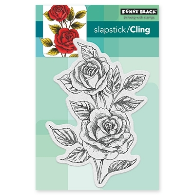 Penny Black SCENTED BEAUTY Cling Stamp Set 40-428 Preview Image