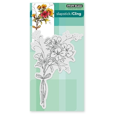 Penny Black ELEGANCE IN MOTION Cling Stamp 40-440* Preview Image