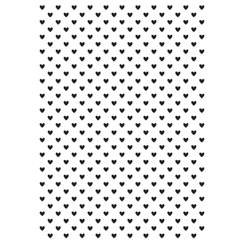 Kaisercraft TINY HEARTS Embossing Folder 4x6 Inches EF243* Preview Image