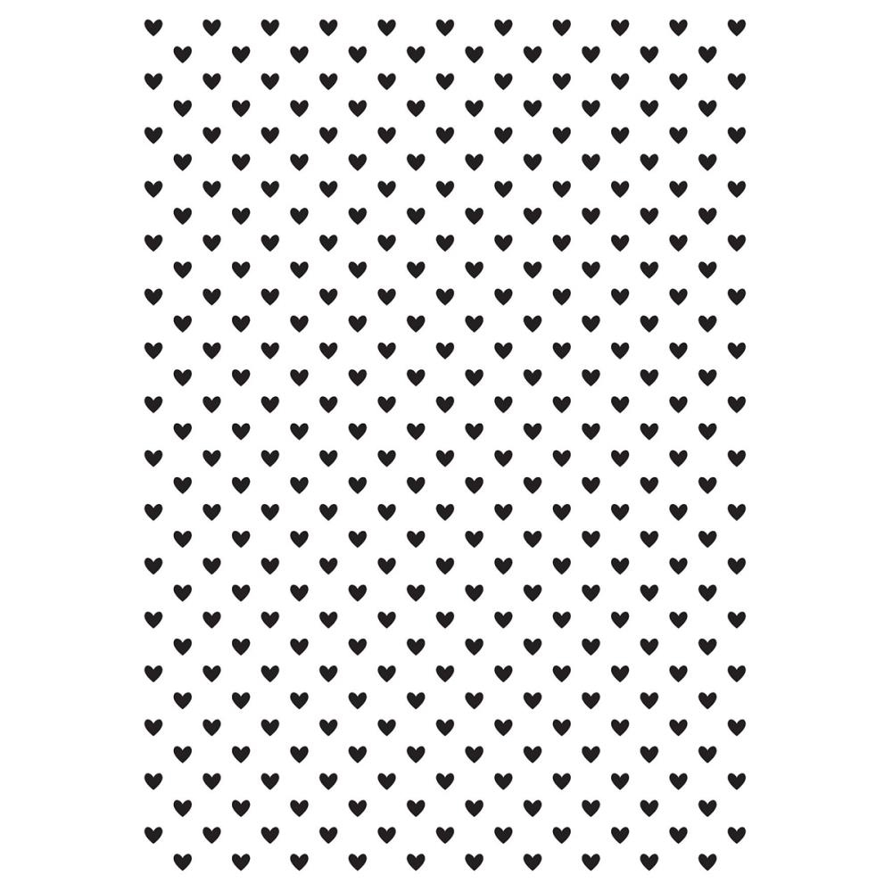Kaisercraft TINY HEARTS Embossing Folder 4x6 Inches EF243* zoom image