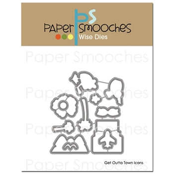 Paper Smooches GET OUTTA TOWN ICONS Wise Dies M2D231