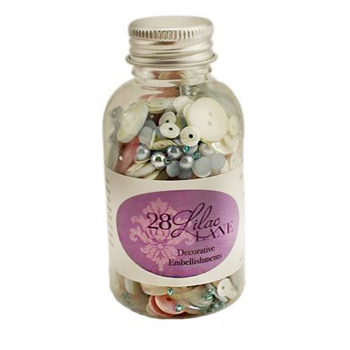 28 Lilac Lane COTTON CANDY Embellishment Bottle LL203
