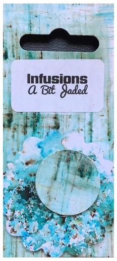 Paper Artsy A BIT JADED Infusions Colored Stain CS02 zoom image