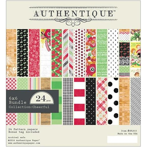 Authentique 6 x 6 CHEERFUL Paper Pad CFL015 Preview Image