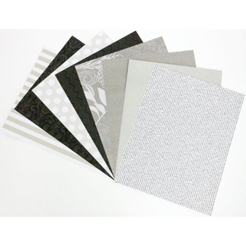 DCWV PATTERNED NEUTRALS 8.5 x 11 Cardstock OS3034042