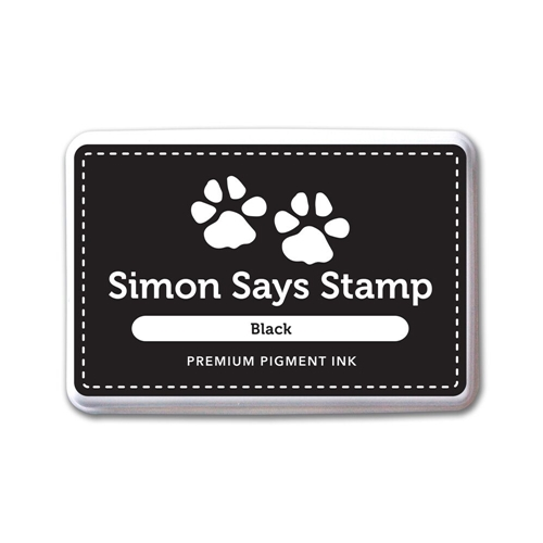 Simon Says Stamp Pigment Ink Pad BLACK INK067 Preview Image
