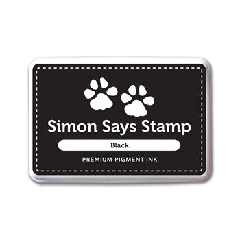 Simon Says Stamp Pigment Ink Pad BLACK INK067