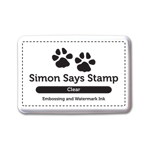 Simon Says Stamp Clear Embossing Ink Pad