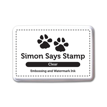 Simon Says Stamp Embossing Ink Pad CLEAR INK066