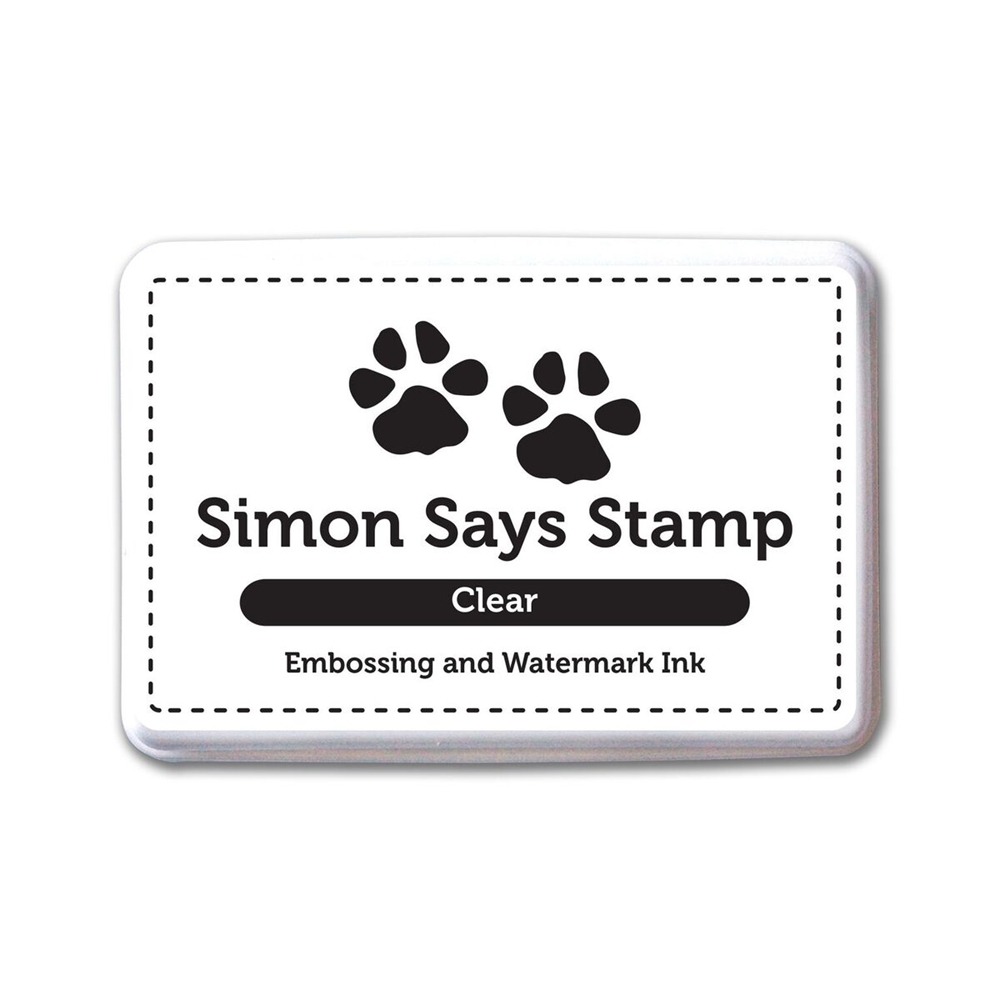 Simon Says Stamp Embossing Ink Pad CLEAR INK066 zoom image