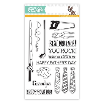 Simon Says Clear Stamps FATHER'S DAY FINDS SSS101624 Dads And Grads