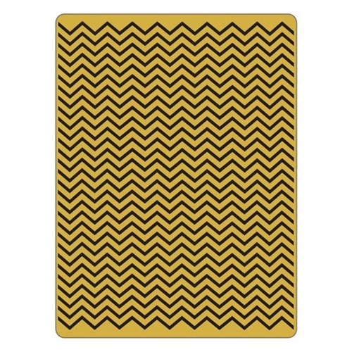 Tim Holtz Texture Fades Chevron Embossing Folder