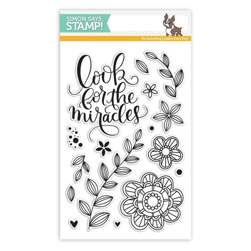 Simon Says Clear Stamps LOOK FOR THE MIRACLES SSS101607 Preview Image