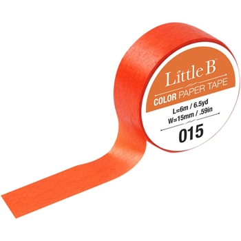 Little B CADMIUM ORANGE Color Tape 100902*