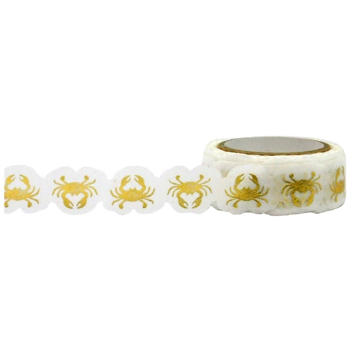 Little B GOLD CRABS Foil Die Cut Tape 101068 Preview Image