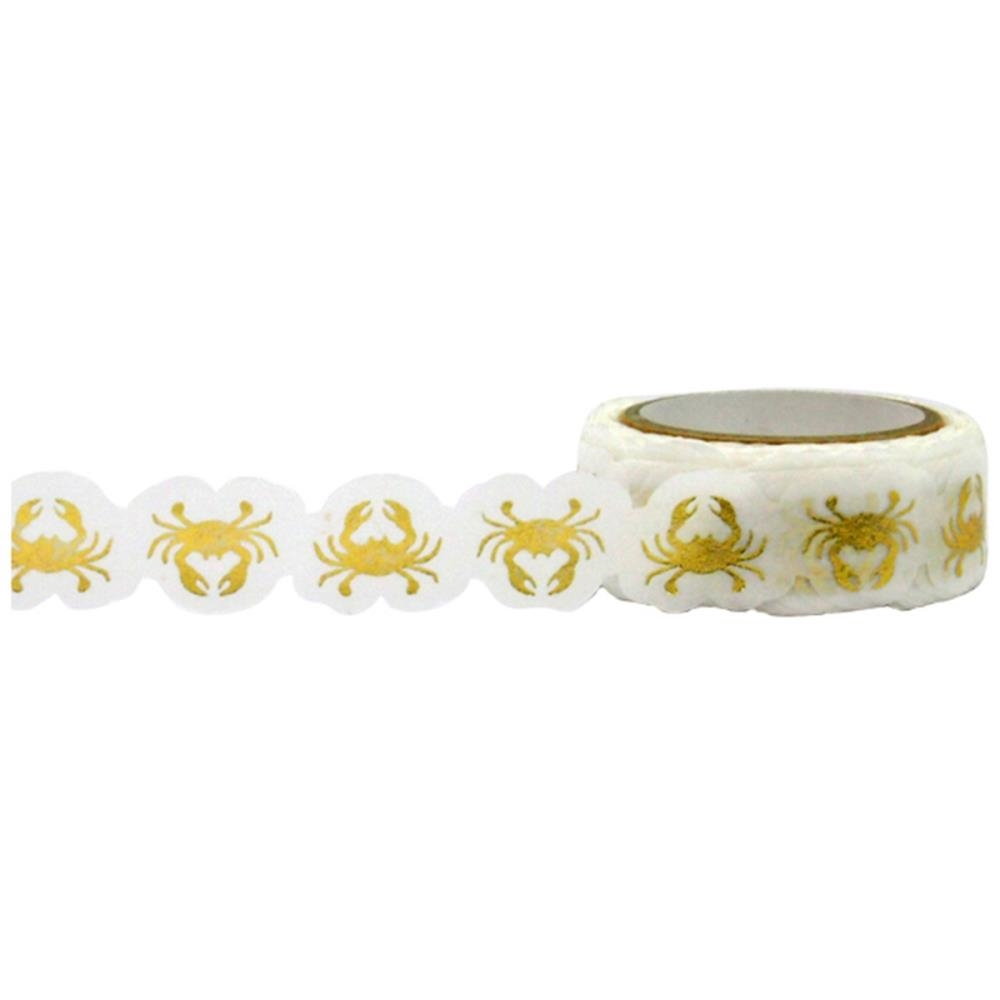 Little B GOLD CRABS Foil Die Cut Tape 101068 zoom image