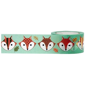 Little B GOLD FOX HEAD Foil Tape 102077