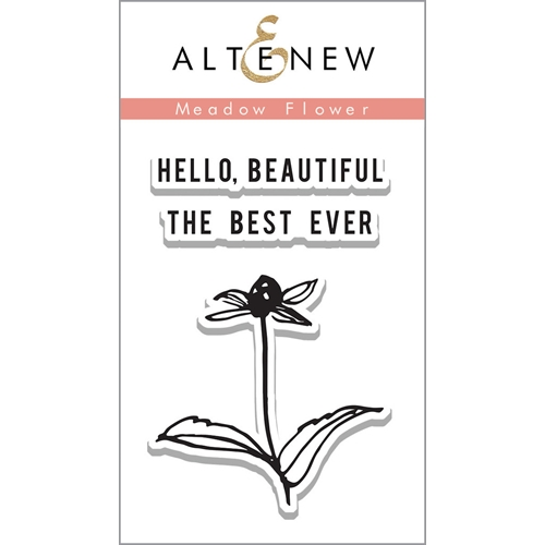 Altenew MEADOW FLOWER Clear Stamp Set ALT1126 Preview Image