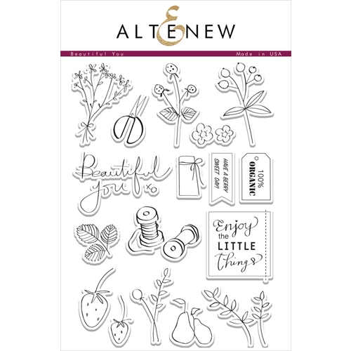 Altenew BEAUTIFUL YOU Clear Stamp Set  Preview Image