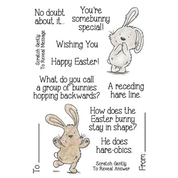 Inky Antics EASTER RIDDLES 2 Clear Stamp Set 11337MC