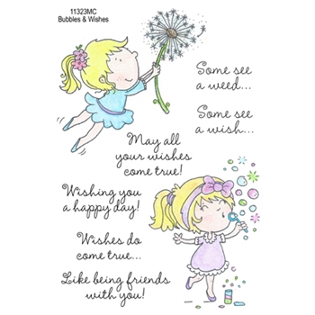 Inky Antics BUBBLES AND WISHES Clear Stamp Set 11323MC