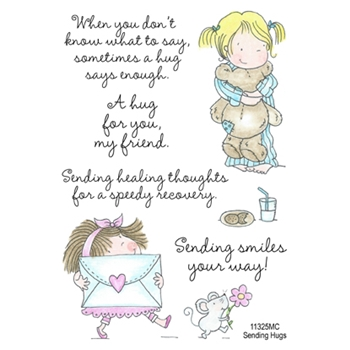 Inky Antics SENDING HUGS Clear Stamp Set 11325MC