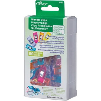 Clover WONDER CLIPS Pack Of Fifty 3183
