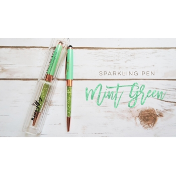 Mommy Lhey MINTY GREEN Sparkling Pen MLD117