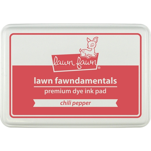 Lawn Fawn CHILI PEPPER Premium Dye Ink Pad Fawndamental LF1194 Preview Image