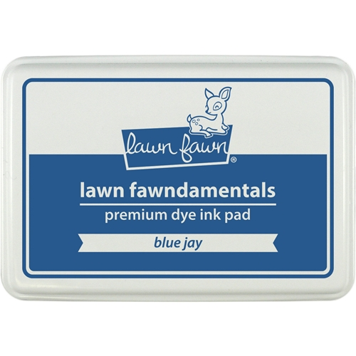 Lawn Fawn BLUE JAY Premium Dye Ink Pad Fawndamentals LF1192 Preview Image