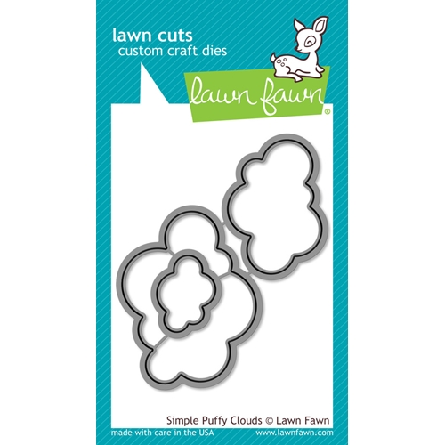 Lawn Fawn SIMPLE PUFFY CLOUDS Lawn Cuts Dies LF1186 Preview Image