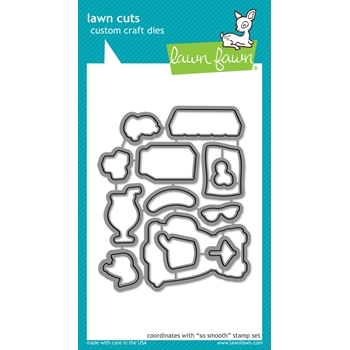 Lawn Fawn SO SMOOTH Lawn Cuts Dies LF1166