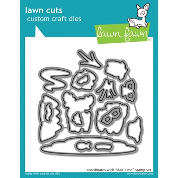 Lawn Fawn DAD AND ME Lawn Cuts Dies LF1164