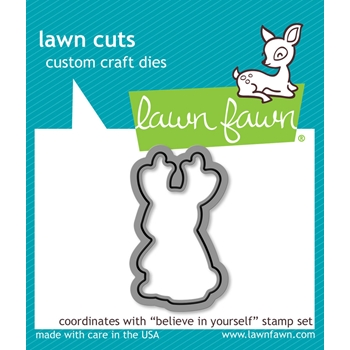 Lawn Fawn BELIEVE IN YOURSELF Lawn Cut Die LF1043