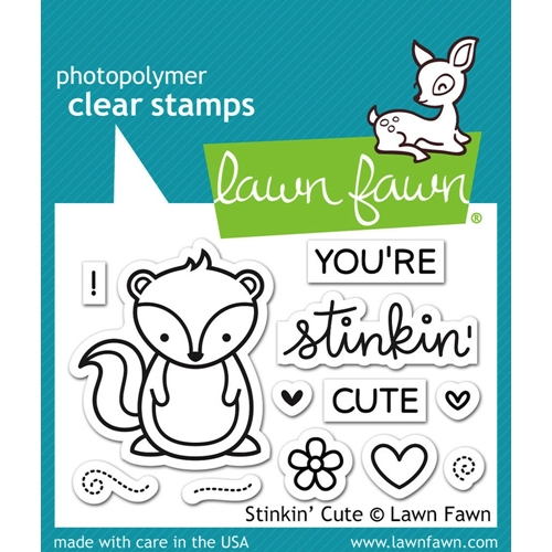 Lawn Fawn STINKIN' CUTE Clear Stamps LF1022 Preview Image