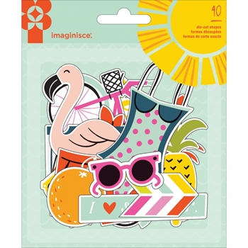Imaginisce SUNNY Die Cut Shapes 400805