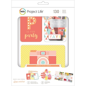 Becky Higgins American Crafts Project Life SPRINKLES Value Kit 380627