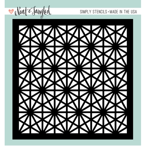 Neat and Tangled HEXASTAR Stencil NAT168* Preview Image