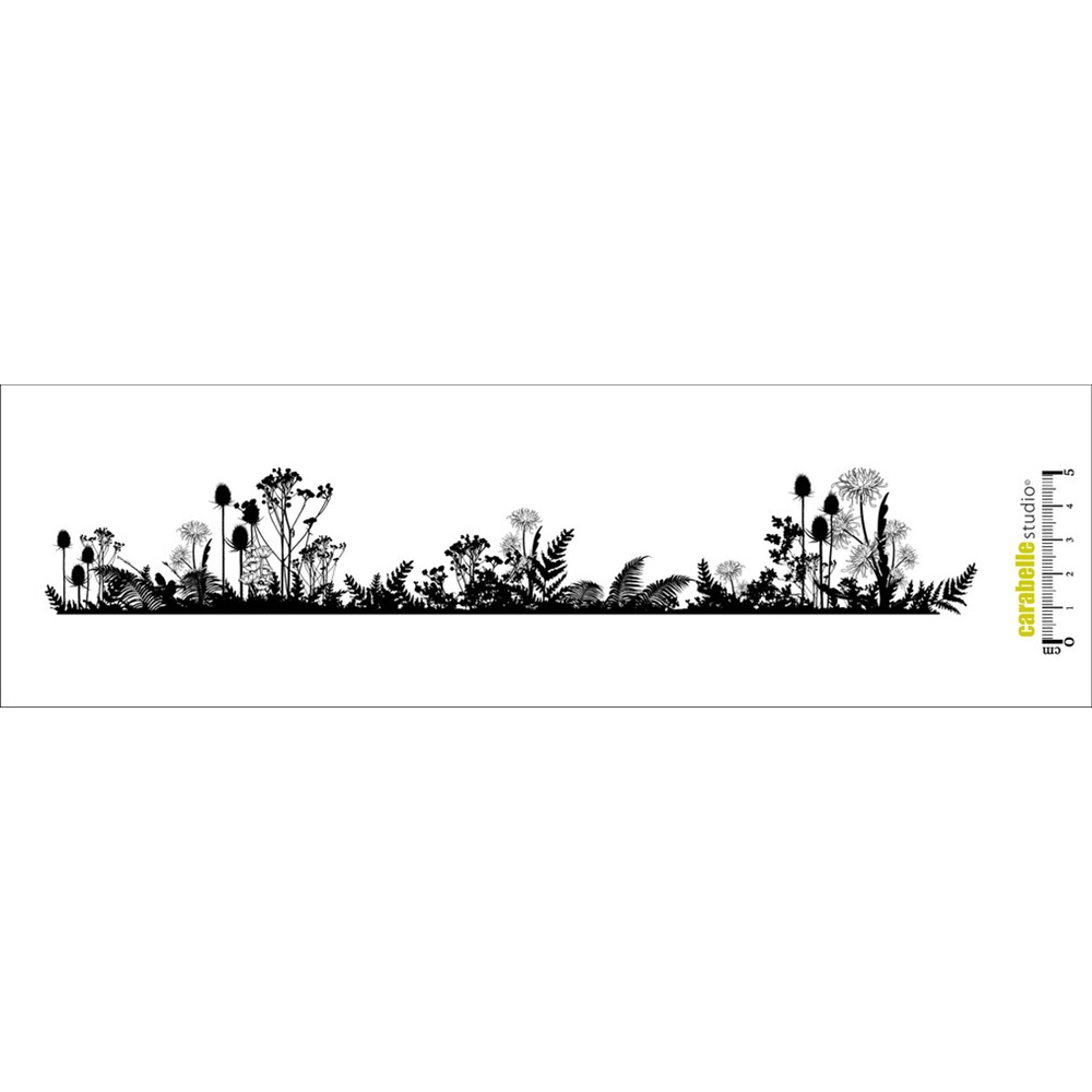 Carabelle Studio NATURE SAUVAGE Edge Cling Stamp SED0012  zoom image