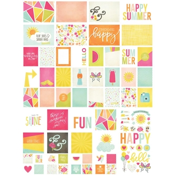 Simple Stories SUNSHINE AND HAPPINESS Snap Cards 7223