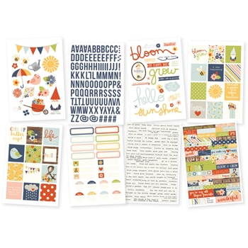 Simple Stories BLOOM AND GROW Stickers 7132