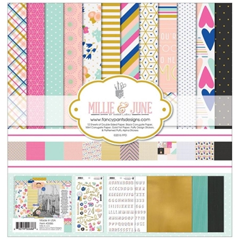 Fancy Pants MILLIE AND JUNE Collection Kit 12 x 12 2686*