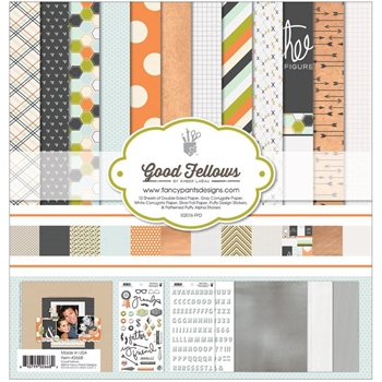 Fancy Pants GOOD FELLOWS Collection Kit 12 x 12 2668*